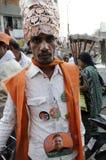 Elezione indiana Fotografie Stock Libere da Diritti
