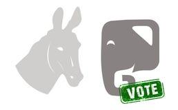 Elezione presidenziale degli Stati Uniti Fotografia Stock Libera da Diritti