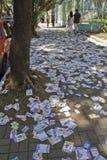 Elezioni brasiliane 2012 - città sporca Fotografia Stock Libera da Diritti