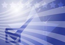 Elezioni degli S.U.A. illustrazione vettoriale