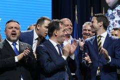 Elezioni del Partito nazional-liberale - Romania immagine stock libera da diritti