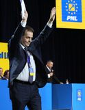 Elezioni del Partito nazional-liberale - Romania fotografia stock