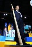 Elezioni del Partito nazional-liberale - Romania immagini stock
