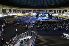 Elezioni del Partito nazional-liberale - Romania fotografie stock libere da diritti