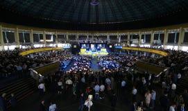 Elezioni del Partito nazional-liberale - Romania fotografia stock libera da diritti