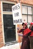 Elezioni di diritti delle donne Immagini Stock Libere da Diritti
