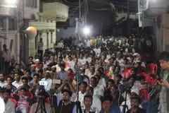 Elezioni indiane, periodi elettorali, elezioni di piccola zona fotografie stock