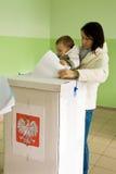 Elezioni locali in Polonia fotografia stock