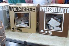 Elezioni messicane Fotografie Stock