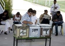 Elezioni nel Messico Fotografie Stock Libere da Diritti
