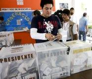Elezioni nel Messico Immagini Stock Libere da Diritti