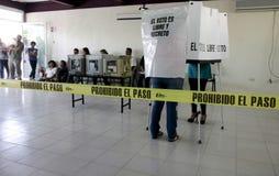 Elezioni nel Messico Fotografia Stock