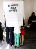 Elezioni nel Messico Immagine Stock