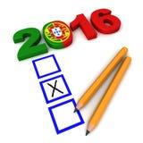 Elezioni portoghesi 2016 Immagini Stock Libere da Diritti