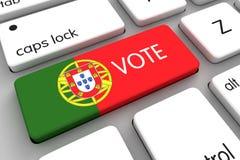 Elezioni portoghesi 2016 Fotografia Stock Libera da Diritti