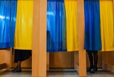 Elezioni in Ucraina fotografia stock libera da diritti