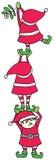 Elfów Dekorować Zdjęcia Stock