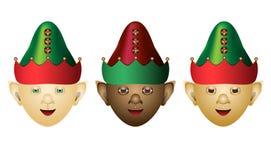 elfów różni pochodzenia etniczne royalty ilustracja