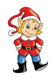 Elf stock photo
