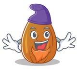 Elf almond nut character cartoon Stock Photography