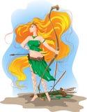 Elf archer royalty free illustration