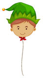 Elf balloon on string Royalty Free Stock Photography