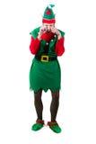 Elf bouleversé pleurant Photo libre de droits