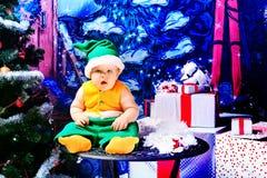 Elf christmas Stock Photo