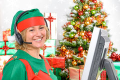 Elf Customer Support Stock Photography