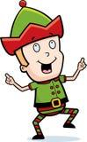 Elf Dancing royalty free illustration