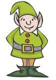 Elf di Natale Fotografie Stock Libere da Diritti