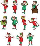 Elf die elf zijn stock illustratie