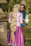 Elf fantazi jarmark (Elfia) Obraz Royalty Free