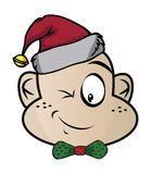 Elf Funny expression characters Royalty Free Stock Images