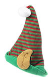 Elf hat. On White Background Royalty Free Stock Photo