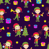 Elf helpers vector illustration Stock Images