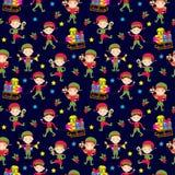 Elf helpers vector illustration Stock Photography