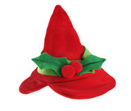 Elf holiday hat Royalty Free Stock Photo