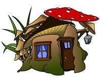 Elf House Stock Photo