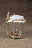 Elf in a jar Royalty Free Stock Photography