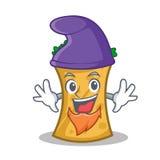 Elf kebab wrap character cartoon. Vector illustration royalty free illustration