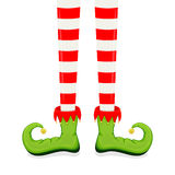 Elf Legs In Shoes Royalty Free Stock Photo