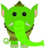 Elf-lephant Stock Image