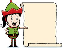 Elf List Stock Photo