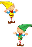 Elf Mascot - Confused Stock Images