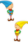 Elf Mascot - Hands On Hips Royalty Free Stock Image