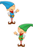 Elf Mascot - Presenting Royalty Free Stock Photography