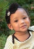 Elf Monats-altes Lächeln Stockfotografie