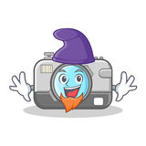Elf photo camera character cartoon Stock Photography