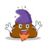Elf Poop emoticon character cartoon Stock Photography
